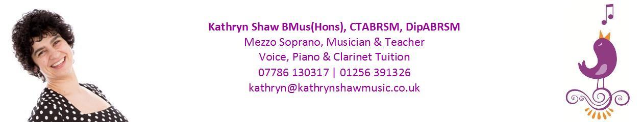 Kathryn Shaw Music